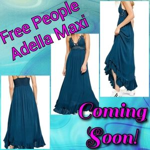 Coming Soon! NEW Free People Adella Maxi Dresses!